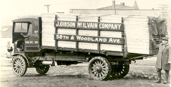 1925 lumber truck