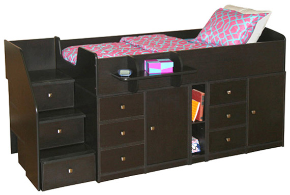 berg sierra captains storage bed