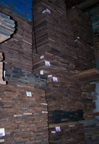 Stacks of Walnut