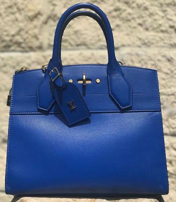 Louis Vuitton City Steamer PM Handbag