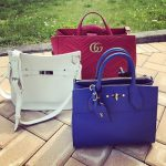 multiple designer handbags
