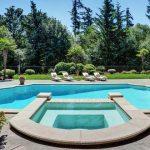 backyard pool dream oasis